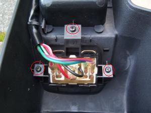 9. Préparer la console pour le nettoyage de la commande